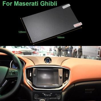 Hottop 8.4 inch GPS Navigation Screen Pet Protective Film For Maserati Ghibli Control of LCD Screen Car Sticker