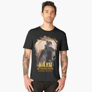 """League of Legends KAYN - The Shadow Reaper"" Men's Premium T-Shirt by Naumovski 