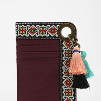 Urban Outfitters - Ecote Tasseled ID Card Holder