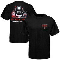 Texas Tech Red Raiders In Your Face T-Shirt - Black