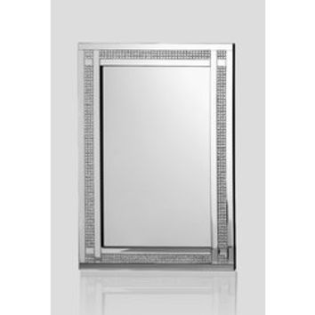 Rectangle Silver Wall Accent Mirror
