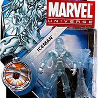 Marvel Universe 3 3/4 Inch Series 16 Action Figure #23 Iceman by Hasbro Toys