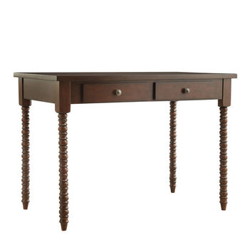 Kingstown Home Aiden Writing Desk with Helix Legs