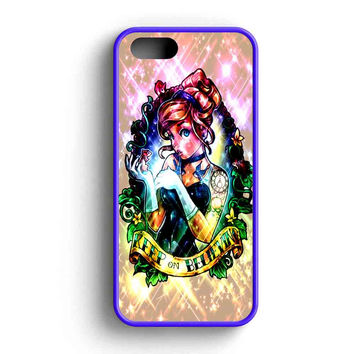Disney Princess Cinderella Tattooed iPhone 5 Case iPhone 5s Case iPhone 5c Case