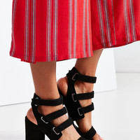 Strappy Heel   Urban Outfitters