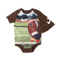 Nike Sport Sublimation Two-Piece Newborn Boys' Set Size 9-12M (Brown)
