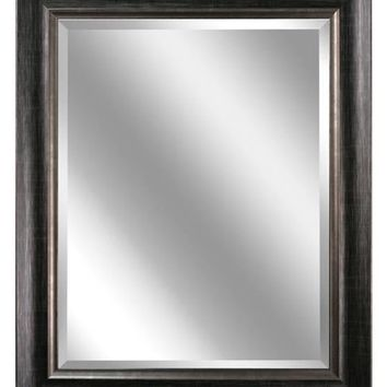 Brushed Platinum Framed Mirror (2075) - Illuminada