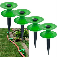 Set of 4 Hose Roller Guides by Pure Garden