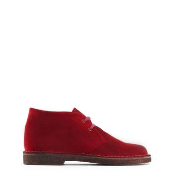 Made In Italia Red Lace Up Boots