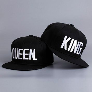 $9.99  KING QUEEN Baseball Caps Embroider Letter Couples FREE SHIPPING!!!!