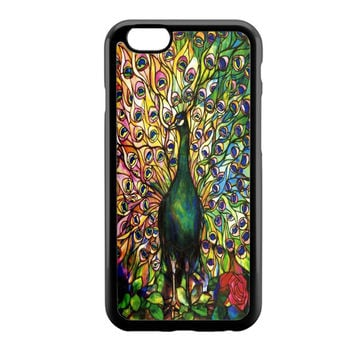 Peacock Tiffany Green iPhone 6 Case