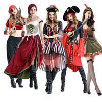 Halloween Pirate Women's Sea Costume [8979069383]