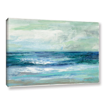 """ArtWall Silvia Vassileva's """"Tide"""" Gallery-Wrapped Canvas   Overstock.com Shopping - The Best Deals on Gallery Wrapped Canvas"""
