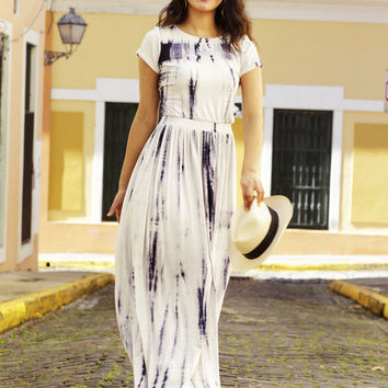 Santanna Maxi Dress White-LIMITED EDITION