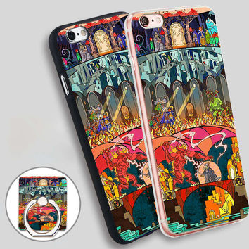 Hobbit Lord Of The Ring LOTR Art Soft TPU Silicone Phone Case Cover for iPhone 4 4S 5C 5 SE 5S 6 6S 7 Plus