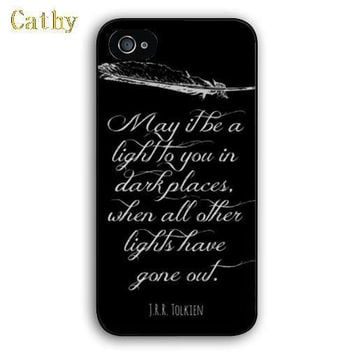 Lord of the Rings quote customized printing phone case for Apple iPhone 4 4s 5 5s 5c 6 6s plus mobile cover