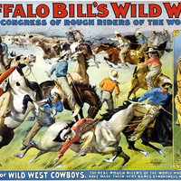 Buffalo Bill's Wild West And Congress Of Rough Riders Circus Poster