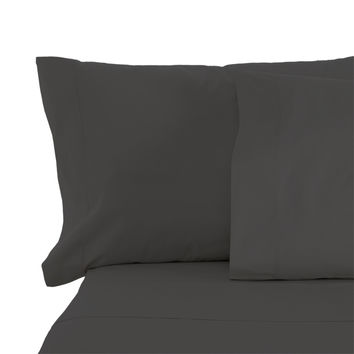 Cypress Linen Collection 1800 Series 6 Piece Gray Premium Sheet Sets