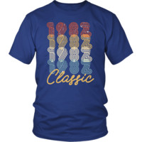 Men's 36th Birthday Gift Vintage 1982 Retro Classic T-Shirt