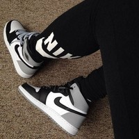 Free shipping-Nike Air Force 1 medium basketball shoes sneakers