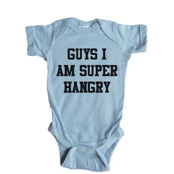 Guys I Am Super Hangry Baby Onesuit