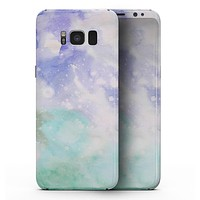 Bright v3 Absorbed Watercolor Texture - Samsung Galaxy S8 Full-Body Skin Kit