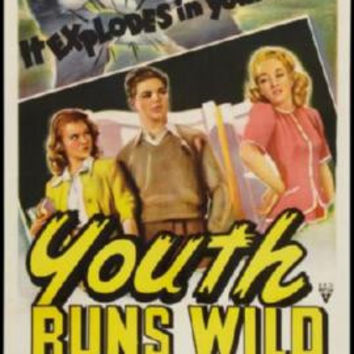 Youth Runs Wild Movie Poster 24in x 36in