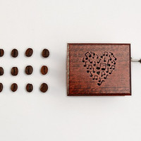 #Romantic #gift #love #musicbox #wooden #music #heart #musicnotes #Mozartx #Magic #Flute