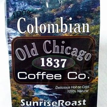 "Colombian ""Sunrise Roast"" Light Roast Ground Coffee by Old Chicago Coffee Co."
