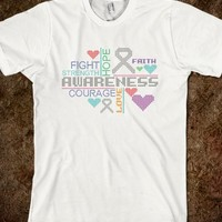 Diabetes Colorful Slogans T-Shirts