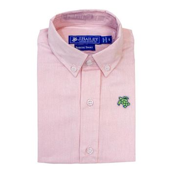 J. Bailey by The Bailey Boys - Pink Oxford Button Down Shirt