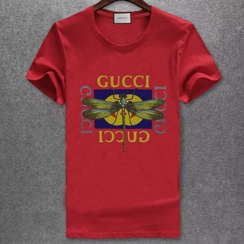 Gucci Fashion Casual Shirt Top Tee-115