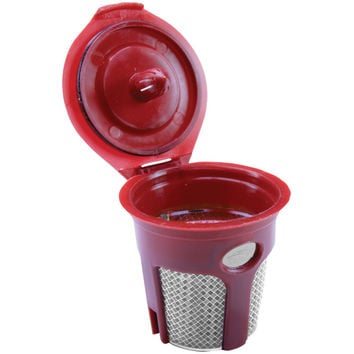 Solofill Chrome Refillable Filter Cup For Keurig