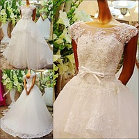 ball gowns Ultimate luxury crystal wedding dress straps 2017 princess wedding dress wedding dresses for pregnant women