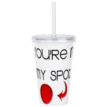 Big Bang Theory My Spotacrylic Double-Wall Tumbler> Tumblers> MORE PRODUCTS-CLICK HERE-GetYerGoat.com