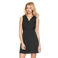 Women's ELLE Scalloped Fit & Flare Dress