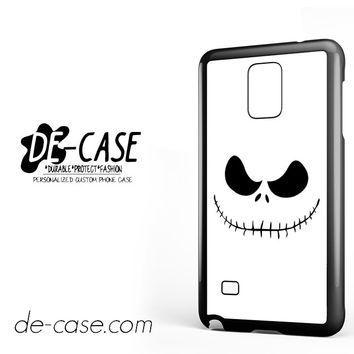 The Nightmare Before Christmas Face For Samsung Galaxy Note 4 Case Phone Case Gift Present YO