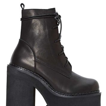 UNIF Choke Leather Boot