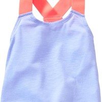 Old Navy Go Dry Exposed Elastic Tank For Baby