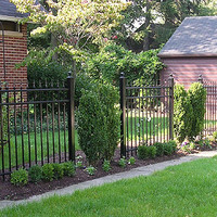 aluminum fencing posts - Google Search