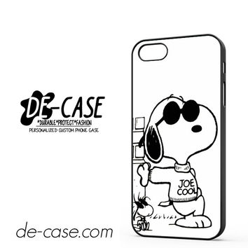 Snoopy Joe Cool DEAL-9766 Apple Phonecase Cover For Iphone 5 / Iphone 5S