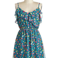 Hello, Pretty Bird Dress | Mod Retro Vintage Dresses | ModCloth.com