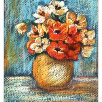 Spring Bouquet - Fabric Poster Print