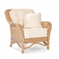 Natchez Wicker Lounge Chair