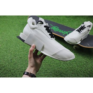 Rick Owen x Adidas Level Runner Low Boost White S81141