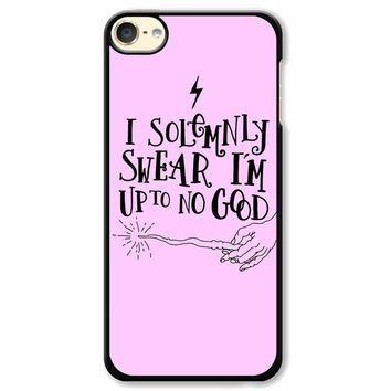 I Solemnly Swear That I Am Up To No Good iPod Touch 6 Case