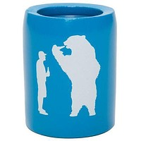 Beer with Bear Can Insulator in Bahama Blue by YETI