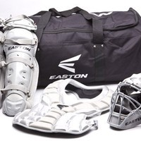 Easton Natural Youth Catcher Box Set, Silver