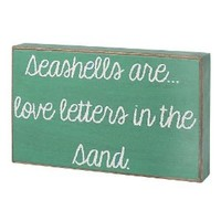Collins Seashells are Decorative Box Sign