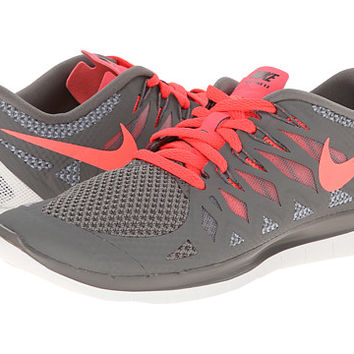 Nike Nike Free 5.0 '14 Light Ash/Wolf Grey/Summit White/Hyper Punch - Zappos.com Free Shipping BOTH Ways